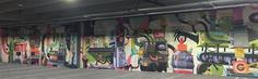 Outstanding murals by Dave Arcade - NICKELODEON WEST COAST + GARAGE MURAL
