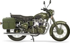 Royal Enfield Military 500 motorcycle - Boing Boing #army #enfield #royal #military #vintage #motorcycle #green