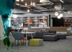 Hostelworld Offices Dublin by Henry J Lyons - #office, #interior,