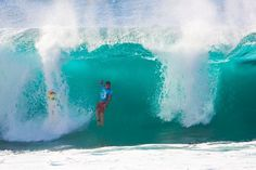 Volcom's Photos - Volcom Pipe Pro Run Day 1 #surfing #volcom #surf