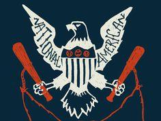 National Pastime #eagle #shield