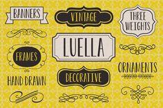 luella typeface by youworkforthem
