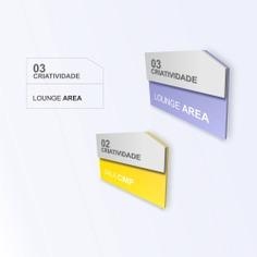 Office Building wayfinding | Signage | Sign Design | Wayfinding | Wayfinding signage | Signage design | Wayfinding Design | 办公室科室牌