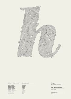 Alphaposter | Happycentro #letter #waves #pen