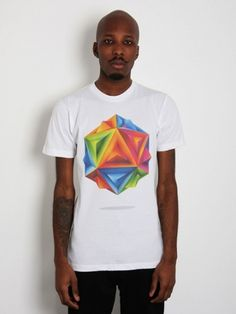 La Boca Blog #abstract #geometry #tshirt #retro #colors #tee