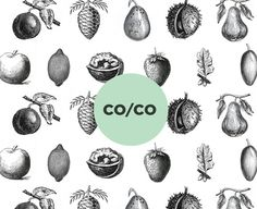 CO/CO on Behance #illustration #identity #drawing