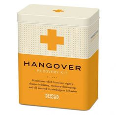 Recovery Kits #packaging #retro #recovery kit #knock knock