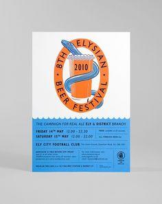 Ely Beer Festival #beer #poster