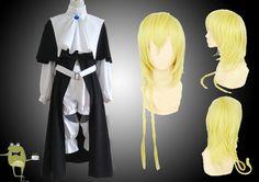 Magi Magnostadt Academy Titus Alexius Cosplay Costume + Wig #titus #cosplay #costume #alexius