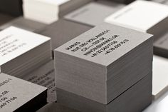 Marks by Marks #business #card #stamp #foil
