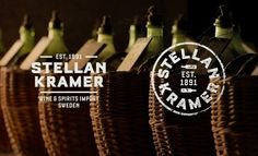 Odear - StellanKramer #spirits #logo #wine