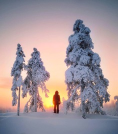 Mesmerizing Winter Wonderland Photos of Lapland in Finland