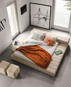 Basket Air Bed by Mauro Lipparini - #design, #furniture, #modernfurniture