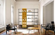 Literatura Open Bookcase by Punt Mobles - #design, #furniture, #modernfurniture, design, furniture