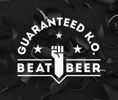 Beat Beer Logo #beer #packaging