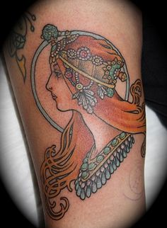Mucha Inspired #tattoo