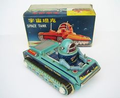[ hotbotz.com ]Â Â Â vintage tin robots & space toys collectibles #robot #retro #asian #tank #space