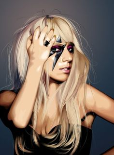 Merde! - color-flow: fabulosity Lady Gaga #gaga #lady