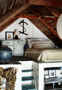 #interior #attic #wooden