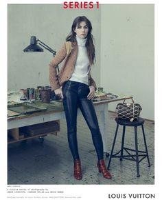 Charlotte Gainsbourg stars in the Louis Vuitton AW14 campaign #charlotte #juergen #direction #art #gainsbourg #louis #geller #vuitton