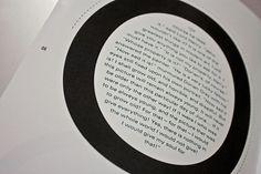 WILDE Magazine on Typography Served #typography #magazine #black and white #wilde magazine