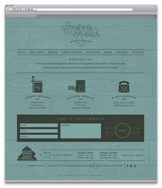 Poogan's Porch | Identity Designed