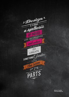 Design is. #poster