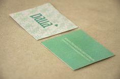 PAUA on the Behance Network #business #branding #card #print #design #identity #logo #typography