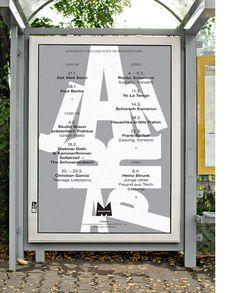 HORT - Mousonturm Konzert Plakate #poster
