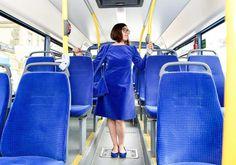 Public Transportation Fabric Series by Menja Stevenson