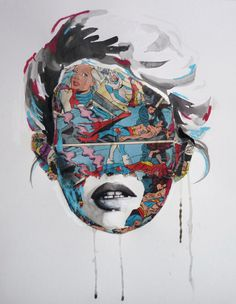 La Cage ... F C H i C H K 'L #mixed #media #art