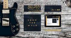 50,000 Thoughts - From the Wyld #album #old #branding #tree #print #texture #cover #layout #typography