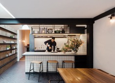 Inner-City Terrace in Sydney by Breathe Architecture: Double Life House