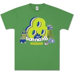 Bonaroo t-shirt #festival #design #shirt #illustration #typograph #shirts