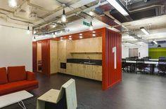 Google Campus, un garaje para crear sinergias entre start-ups » Blog del Diseño #kitchen #space