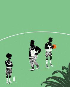 Hoop Dreams by Jeff Östberg
