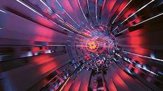 redgate.v2 (loop) on Behance #tech #motion #sci #fi #video #vj #bleep #graphics