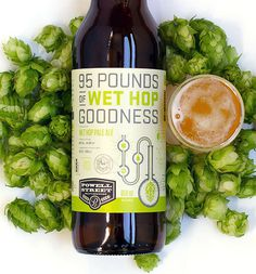 95 Pounds of Wet Hop Goodness Label