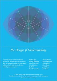 The Design of Understanding : DAVID PRESTON STUDIO #david #preston