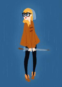 Days are rainy by ~XAV Drawordie on deviantART