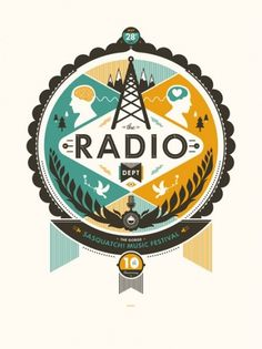GigPosters.com - Radio Dept., The #design #poster #vector