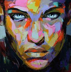 We Make It Good #palette #colors #portrait #painting #knife