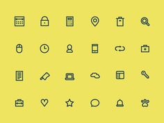 24 Free Small Icons