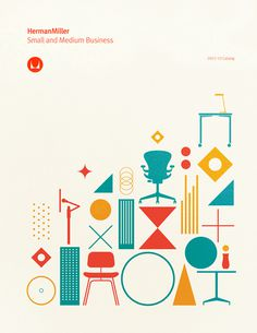 Gavin Potenza Stands Out with Herman Miller | Bernstein #miller #print #illustration #poster #herman