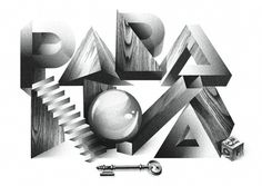 PARANOIA VOUCHER by Simone Le Grand #design #graphic #quality #typography