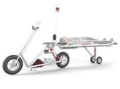 Zyphr Rescue Scooter #tech #amazing #modern #innovation #design #futuristic #gadget #ideas #craft #illustration #industrial #concept #art #cool