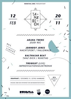 visualism blog: TANZ DICH #tanz #poster