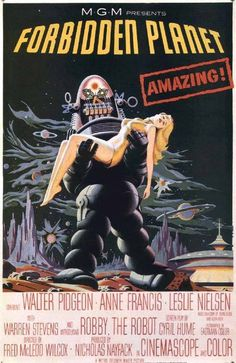 forbidden_planet #planet #poster #forbidden