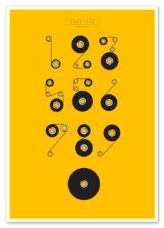 #poster #design #tape