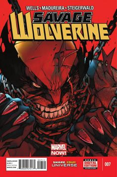 JOE MAD Warms Up for INHUMAN on SAVAGE WOLVERINE #7 | Newsarama.com